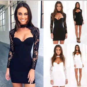 Dresses & Skirts - Sexy lace bodycon dress